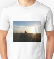 sunset in france T-Shirt