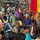 Kathmandu Street Scene by V1mage