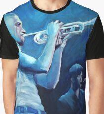 Blue Jazz Graphic T-Shirt
