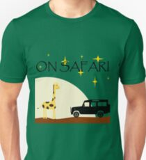 On Safari (at Night) - Defender 110 Unisex T-Shirt