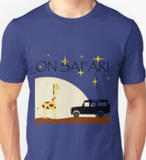 On Safari (at Night) - Defender 110 T-Shirt