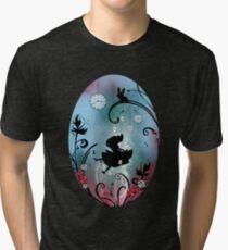 Alice in Wonderland - Rosebush Tri-blend T-Shirt