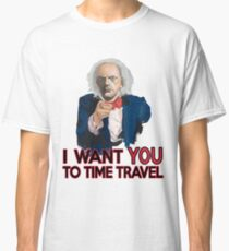 Doc Brown Wants You Classic T-Shirt