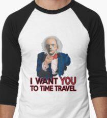 Doc Brown Wants You Men's Baseball ¾ T-Shirt