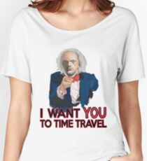 Doc Brown Wants You Women's Relaxed Fit T-Shirt