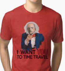 Doc Brown Wants You Tri-blend T-Shirt