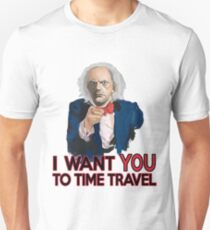 Doc Brown Wants You T-Shirt