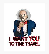 Doc Brown Wants You Photographic Print