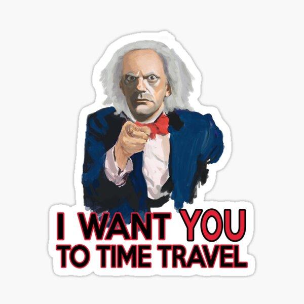 Doc Brown vous veut Sticker