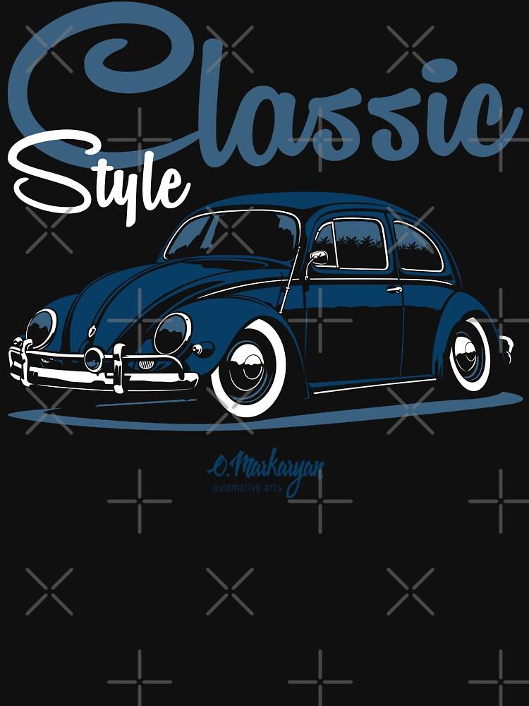 Classic Style. Beetle (blue) by OlegMarkaryan
