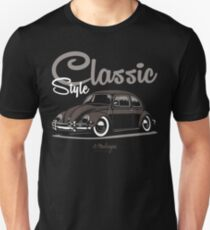 Classic Style. VW Beetle (brown) Unisex T-Shirt