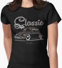 Classic Style. Beetle (brown) T-Shirt