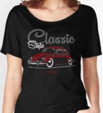 Classic Style. Beetle (red) Women's Relaxed Fit T-Shirt