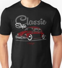 Classic Style. Beetle (red) Unisex T-Shirt