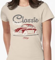 Classic Style. VW Beetle (red) T-Shirt