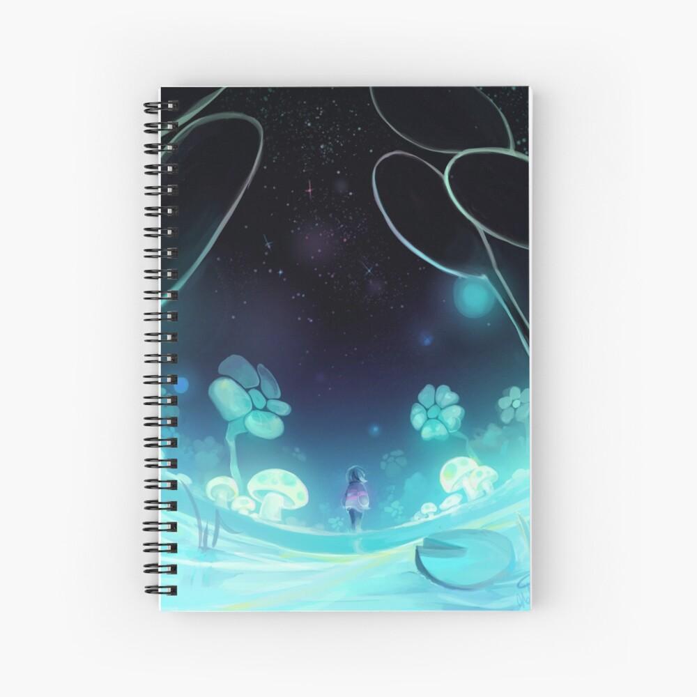 waterfall 3/3 Spiral Notebook