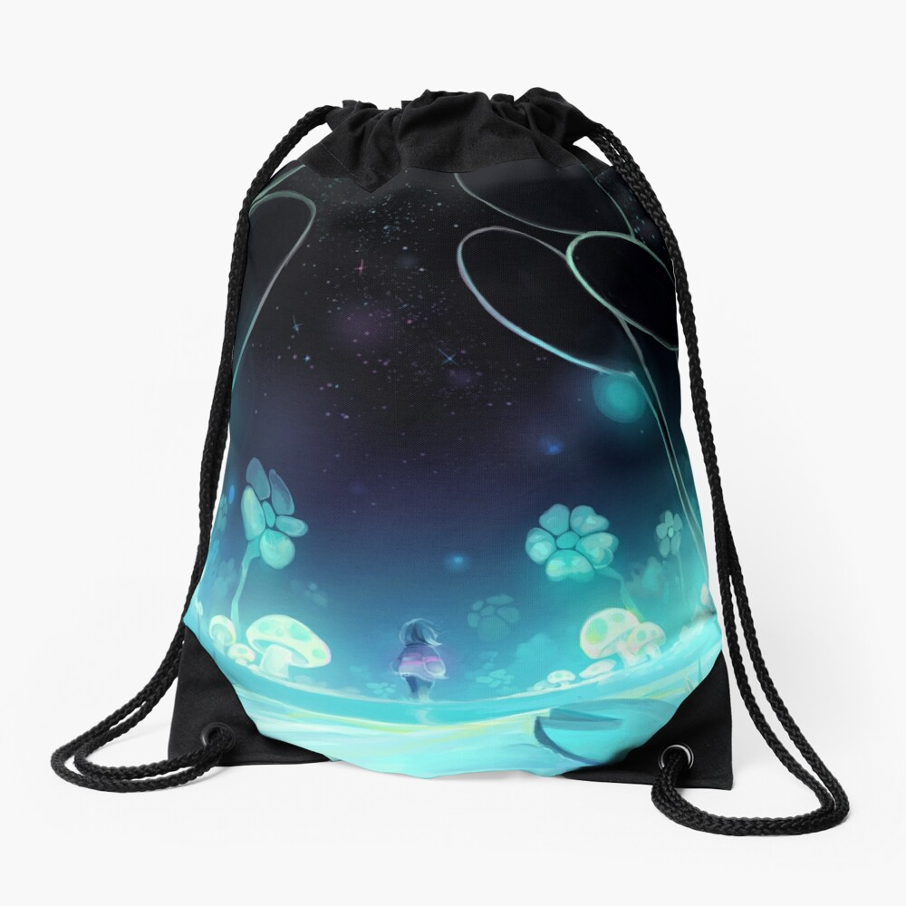 waterfall 3/3 Drawstring Bag