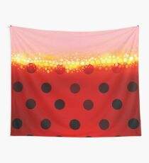 miraculous ladybug designs 2/3 Wall Tapestry