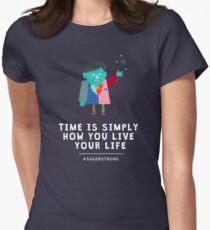 Lebe dein Leben mit Craig Sager Tailliertes T-Shirt