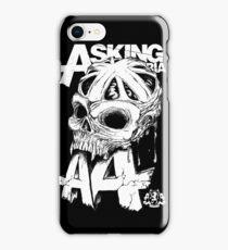 Asking Alexandria England Skull  tshirt and hoodie iPhone Case/Skin
