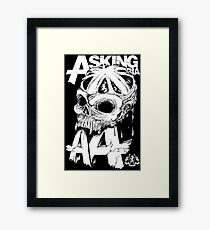Asking Alexandria England Skull  tshirt and hoodie Framed Print