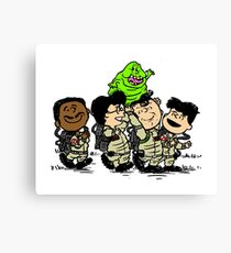 Ghostbusters Gang Canvas Print