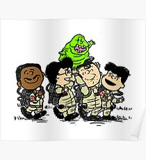 Ghostbusters Gang Poster