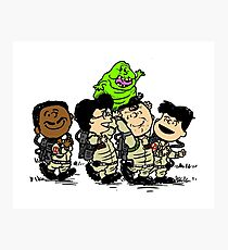 Ghostbusters Gang Photographic Print