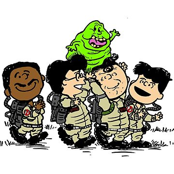 Ghostbusters Gang by UnionTee