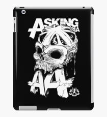 Asking Alexandria England Skull  tshirt and hoodie iPad Case/Skin