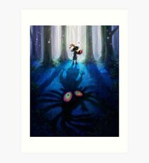 Skull Kid Majora's Mask Art Print