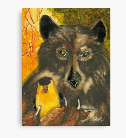 Bearing Gifts Canvas Print