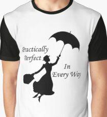 Walt Disney's Mary Poppins design Graphic T-Shirt