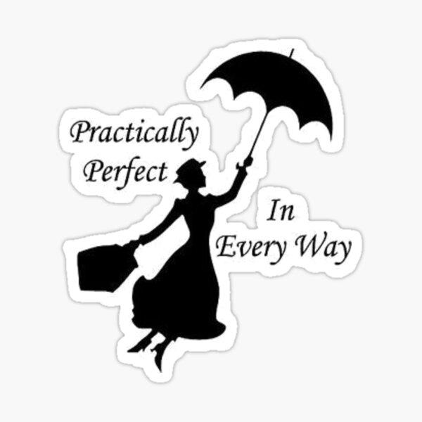 Mary Poppins - pratiquement parfait 6 Sticker
