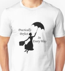 Walt Disney's Mary Poppins design Unisex T-Shirt