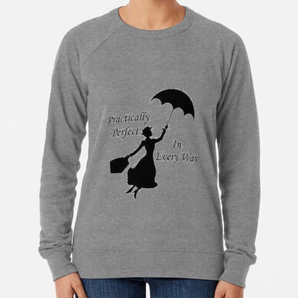 Disney Girls Mary Poppins Carousel Sketch Sweatshirt