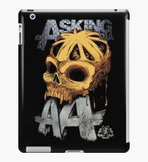 Asking Alexandria Colored England Skull  tshirt and hoodie iPad Case/Skin