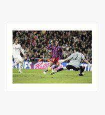 Lámina artística Ronaldinho vs Casillas