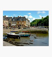 Port of St Goustan in Brittany, France Photographic Print