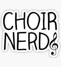 Choir Nerd Sticker