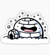 Igloo Dood Sticker