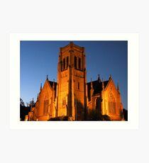 St Saviour's Cathedral, Goulburn Art Print