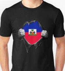 Haiti Flag. Proud Haitian Unisex T-Shirt