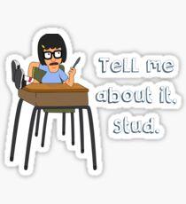 Bad Tina Sticker