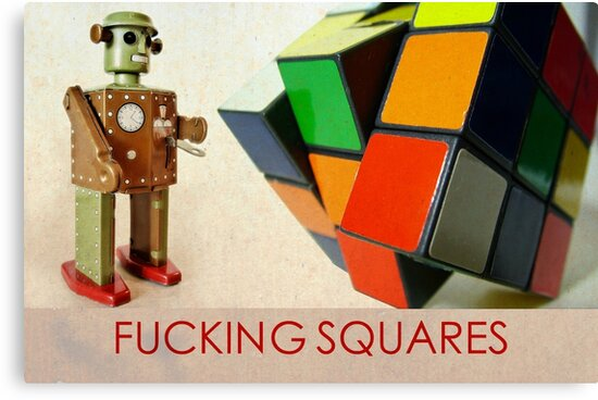 F#$%ING SQUARES by BSHADY NYC