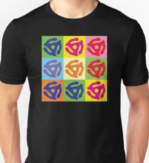 Pop Art Vinyl Record 45 Holder Unisex T-Shirt