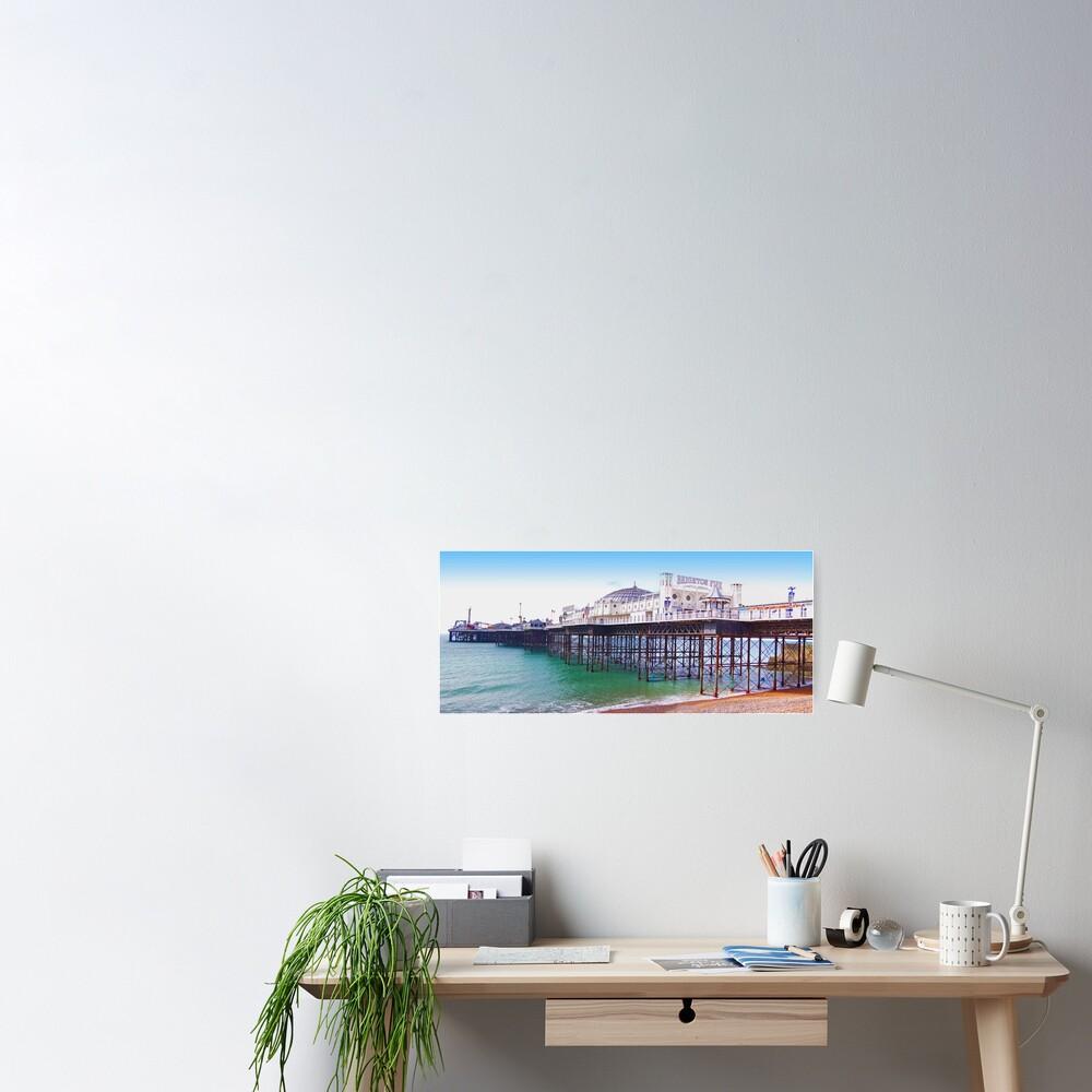 "Brighton Pier - The ""Palace Pier"" Poster"