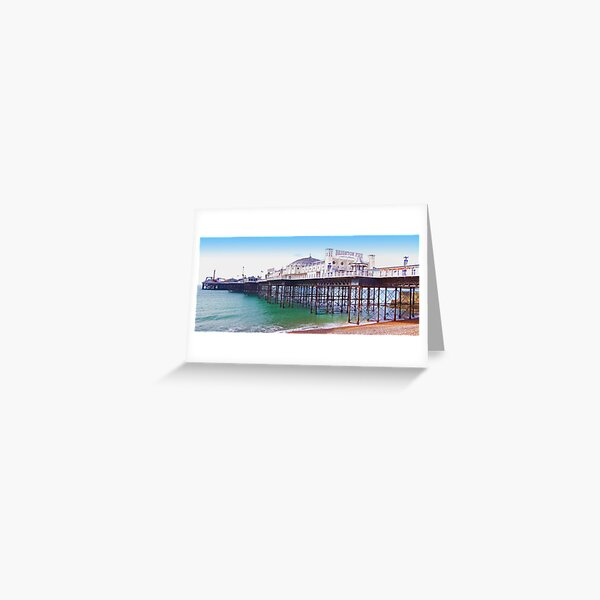 "Brighton Pier - The ""Palace Pier"" Greeting Card"