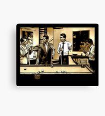 Zombie Rat Pack Canvas Print