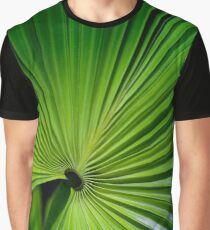 Green Palm frond Graphic T-Shirt